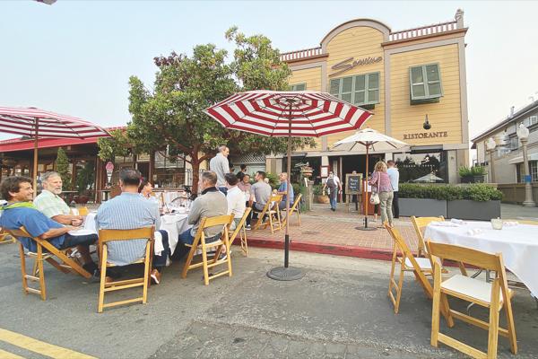 Servino Ristorante to move, paving way for Malibu Farm; Michael Mina's Tiburon restaurant to ope