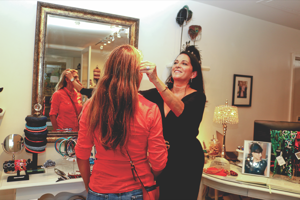 Tiburon hair-accessory designer moves studio to Ark Row