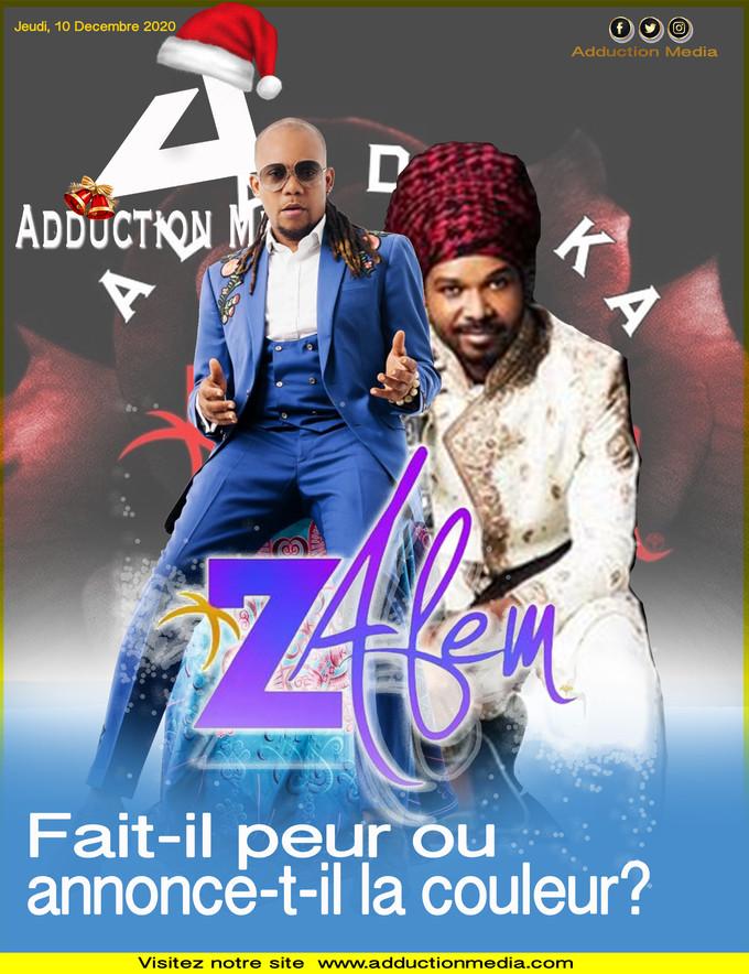 «A la de ka», Zafèm fait-il peur ou annonce-t-il la couleur?