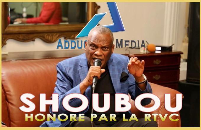 Le chanteur Shoubou est honoré par la Radio et Télévision Caraïbes