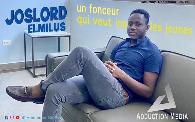 Joslord Elmilus, un fonceur qui veut inspirer les jeunes