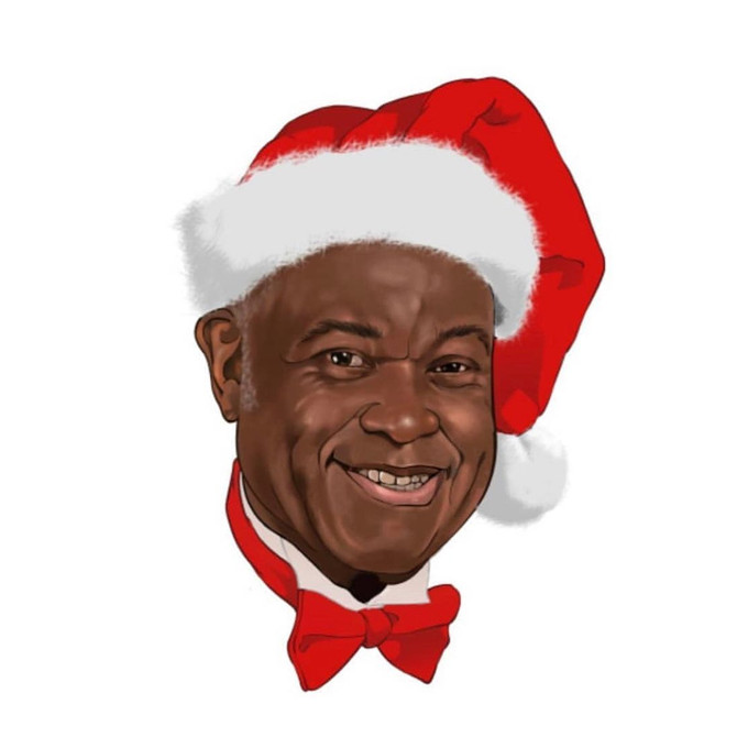 Déferlement d'hommage pour le Père Noël haïtien, Lionel Benjamin