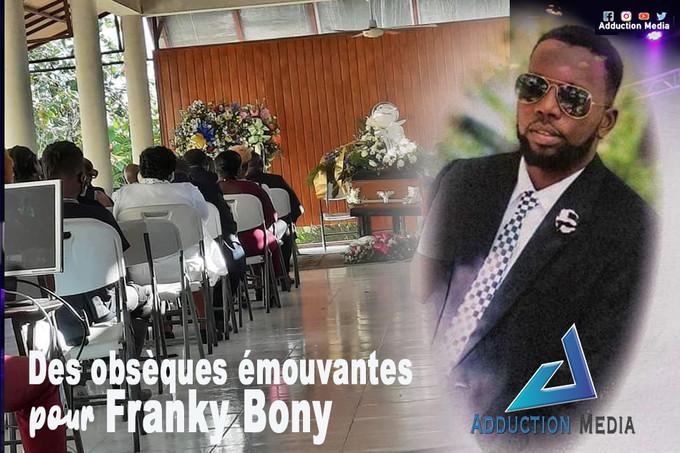 Des obsèques émouvantes pour Franky Bony