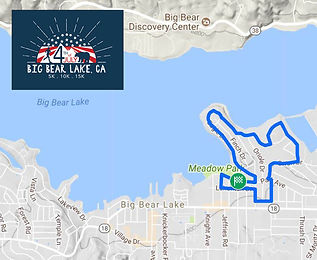 Big Bear 4th of July Course Map