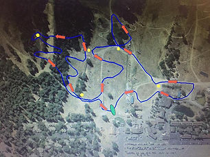 Snow Summit Kodiak Kids course Map