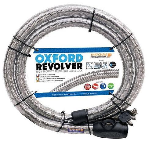 Oxford Revolver Cable lock 1.4m Silver OF231