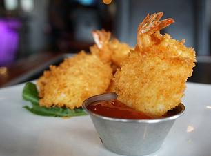 Shrimp and cc Kushiage at the Sushi Place in El Paso