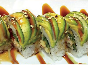 Caterpilar Roll at the Sushi Place in El Paso