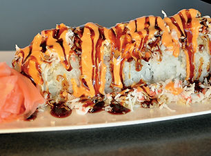 CRUNCHY ROLL at the Sushi Place in El Paso
