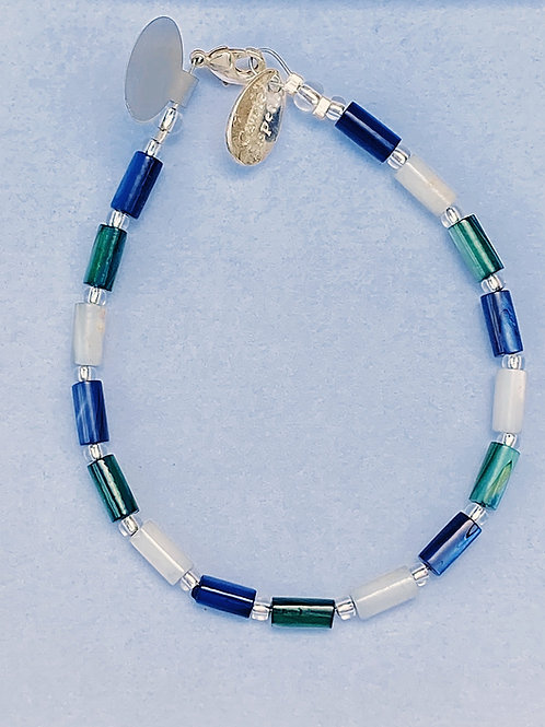 Blue /Green Mix Bracelet