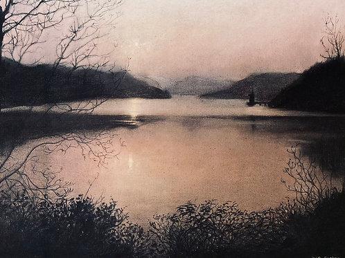Sunset at Lake Vrnwy