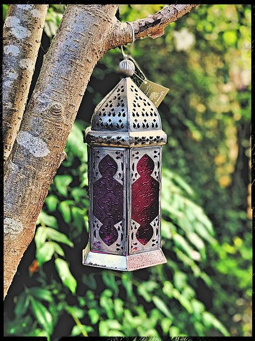 Large Tonal Glass Lantern