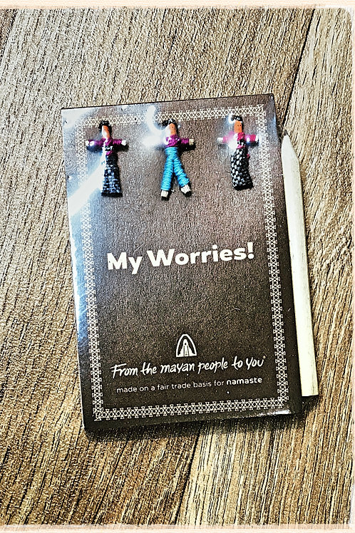 My Worries Small Notepad