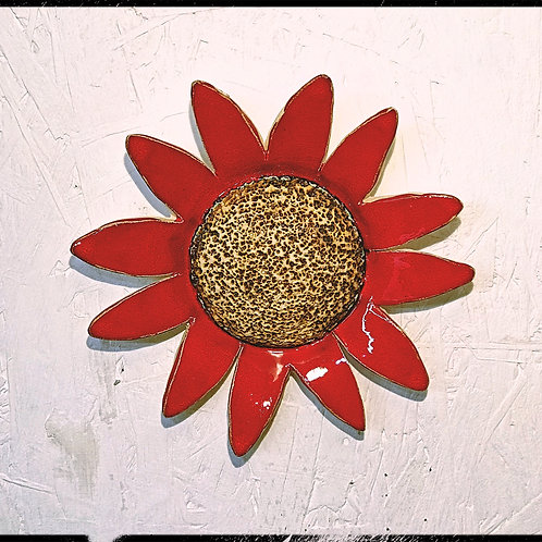Handmade Red Sunflower