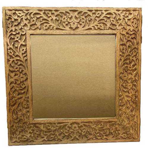 Fair trade Vine leaf Mirror