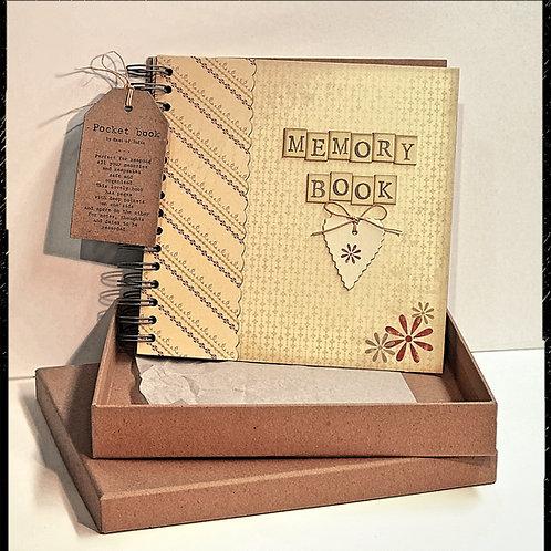 Memory book in box