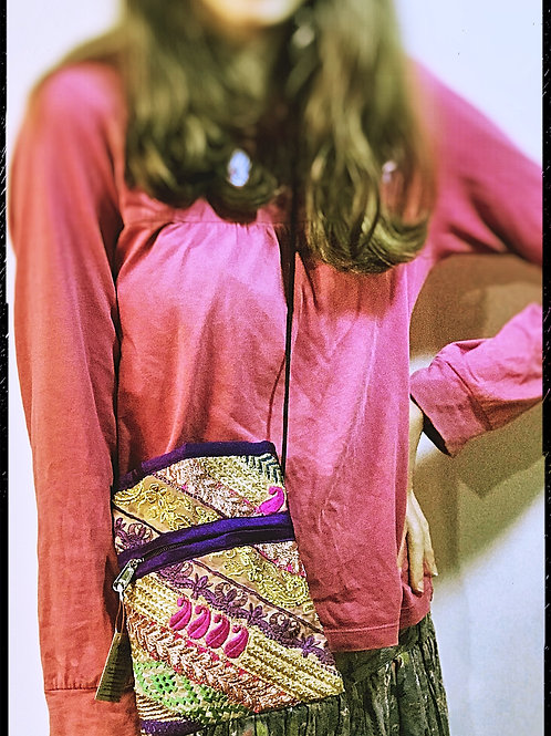 Fair Trade Passport Bag