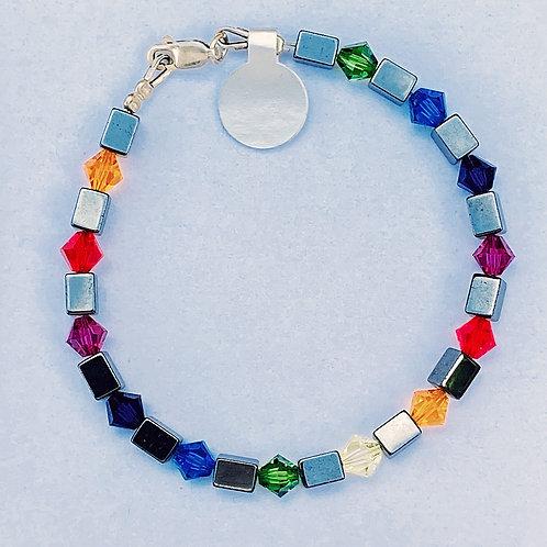 Colourful Rainbow Bracelet