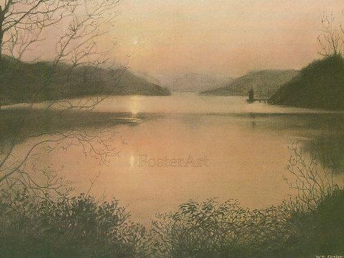 Sunset (Lake Vrnwy)