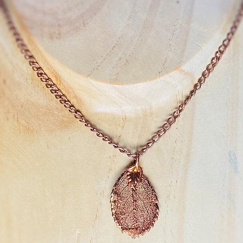 Rose leaf Necklace