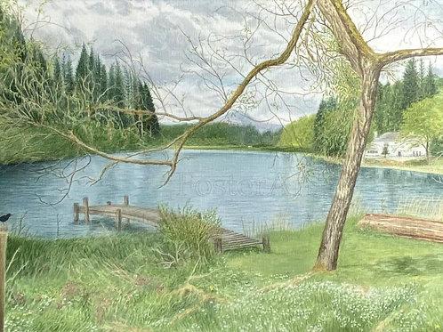 Springtime Loch
