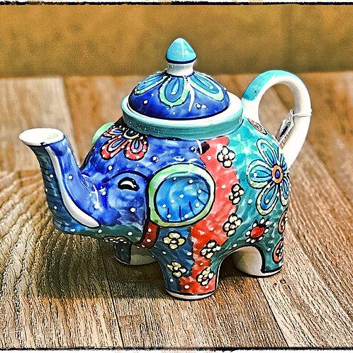 Ceramic Elephant Tea pot