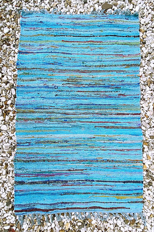 Recycled Over Dyed Rag Rug