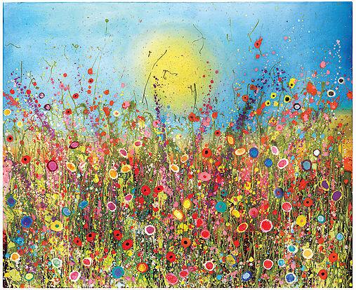 """I'm so full of love"" by Yvonne Coomber"