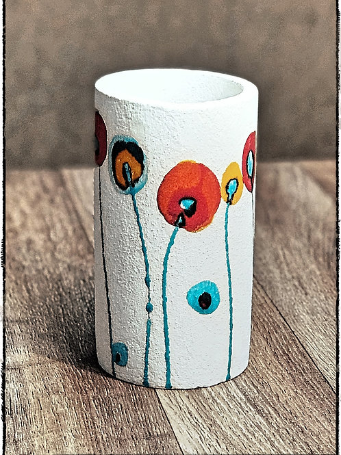 Hand made painted Pottery Vase