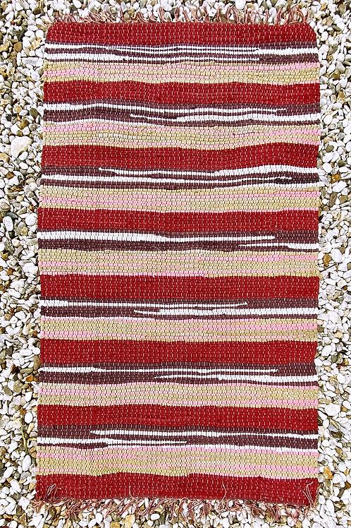 Spice Colour Stripe Rug