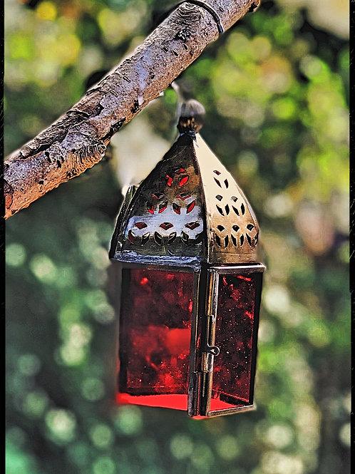 Mini Glass Lantern