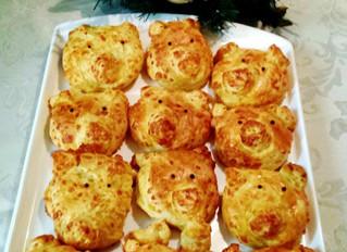 Piggy Biscuits