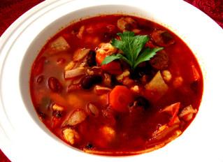 Hungarian Bean Goulash Soup