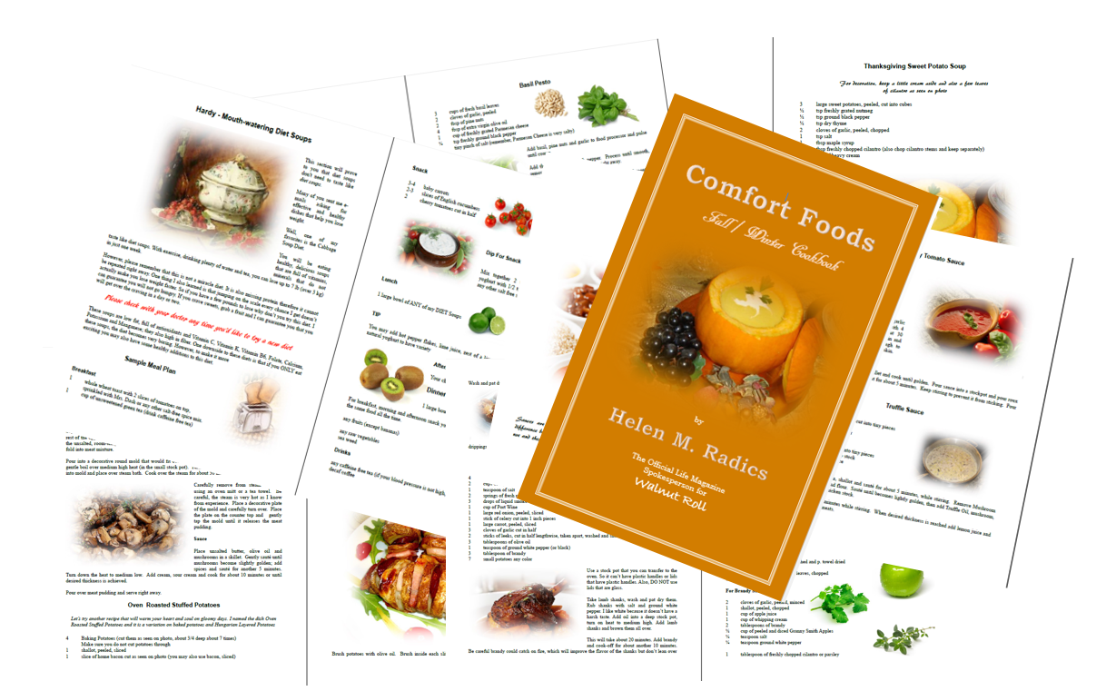 COMFORT FOODS EBOOK FOR FACEBOOK