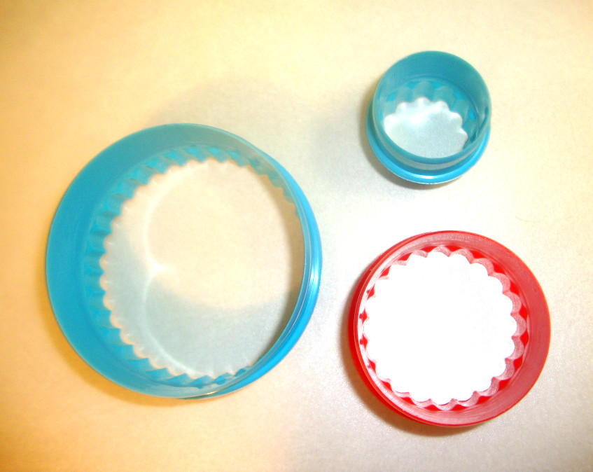 malacka pogacsa round ended biscuit cutters
