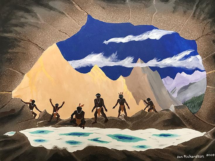 Discovering a Salt Cave