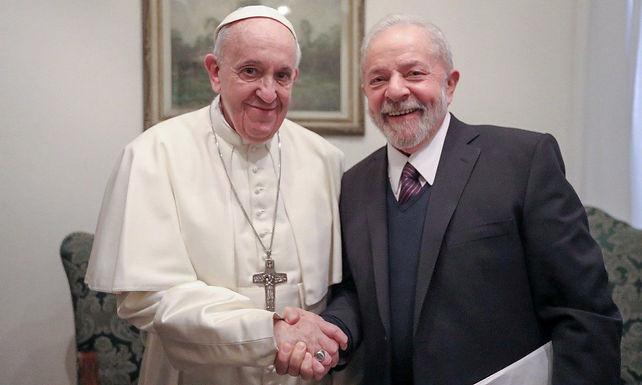 O Papa e Lula