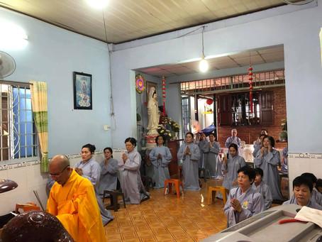 Phật sự tại đạo tràng tịnh thất Lộc Uyển