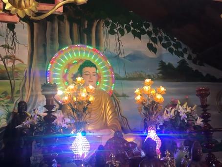 Tăng chúng chùa Thiên Quang thực hiện lễ Chung Thất Đại Đường của cố Đại đức Thích Tâm Từ