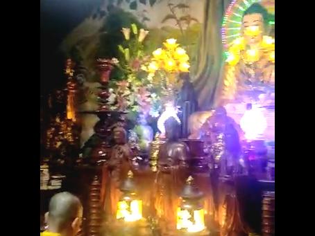 Đại lễ Dược Sư Cầu an-Dâng sớ đầu năm tại chùa Thiên Quang
