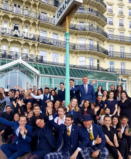 The Grand Brighton is officially in the Top 100 Best Companies to Work For in 2021