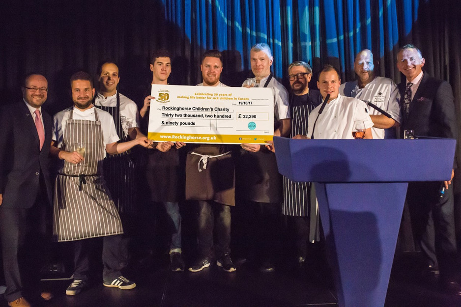Brighton Chefs' Table raises over £30,000 for Rockinghorse Children's Charity by bringing together t