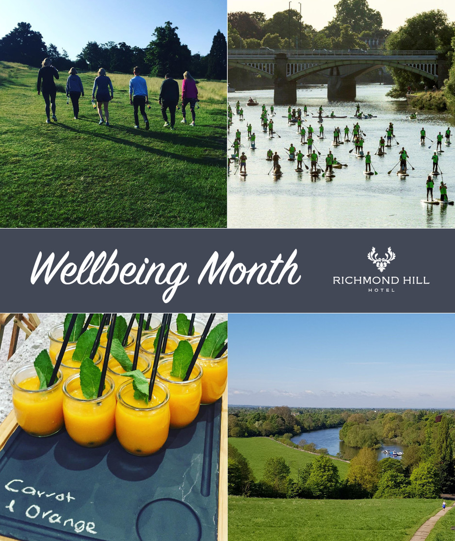Richmond Hill Hotel and The Grand Brighton hold June Wellbeing Month to champion wellbeing in the me