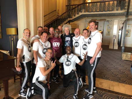 Dad dancers support a grand cause for Prostate Cancer UK