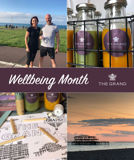 The Grand Brighton and Richmond Hill Hotel hold June Wellbeing Month to champion wellbeing in the me