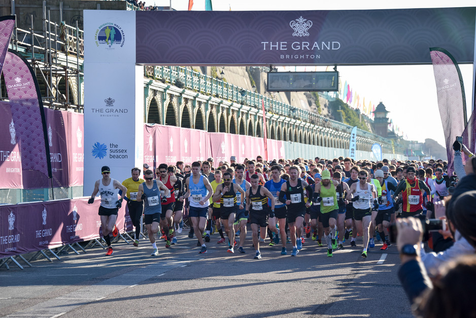 The Grand Brighton prepares to put on a show at the Brighton Half Marathon