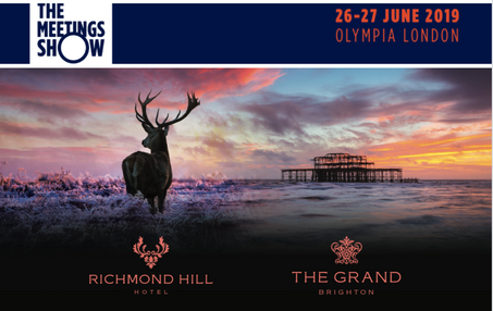 Join us at The Meetings Show | 26-27 June 2019