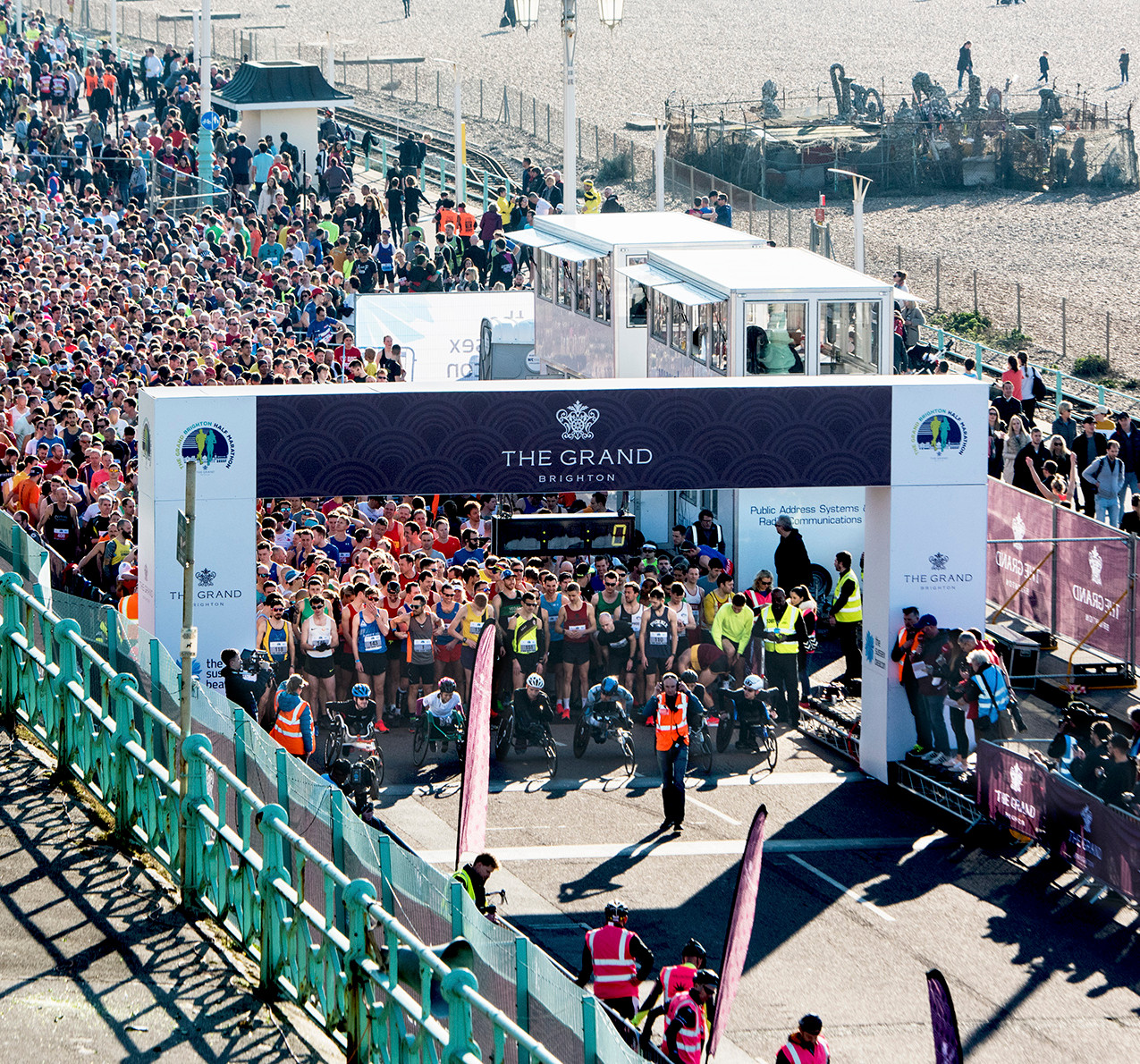 2019_Race start_The Grand Brighton Half