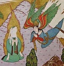 Muhammed med engel.jpg