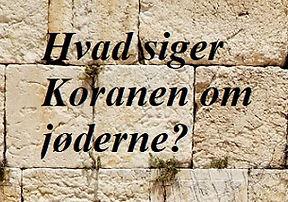 Grædemuren - Jøderne i Koranen